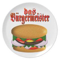 das Burgermeister Dinner Plate