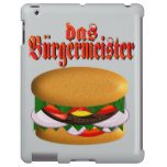 das Burgermeister iPad case