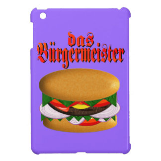 das Burgermeister iPad Mini Cover