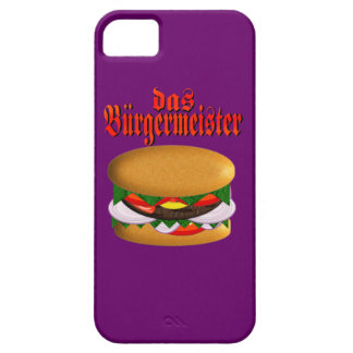 das Burgermeister iphone 5 Barely There iPhone SE/5/5s Case