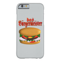 das Burgermeister iPhone 6 Case