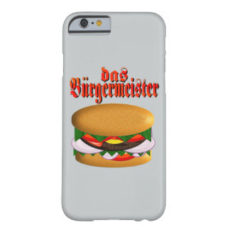 das Burgermeister iPhone 6 Case
