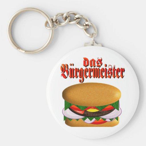 das Burgermeister Keychain