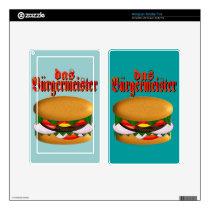 das Burgermeister Kindle Fire Skin