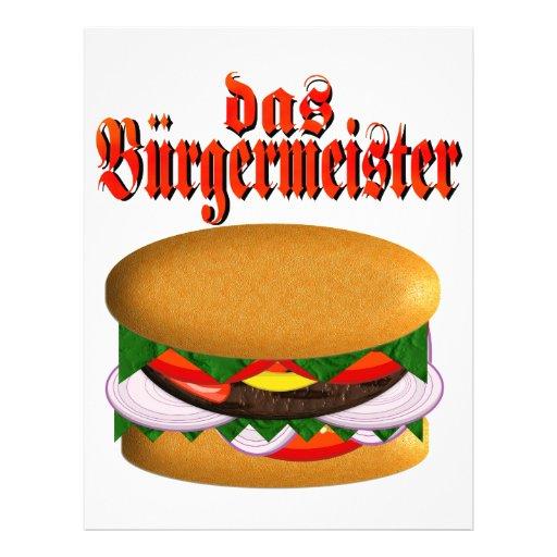 das Burgermeister Letterhead