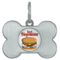 das Burgermeister Pet (Dog) Tag