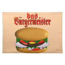 das Burgermeister Placemat
