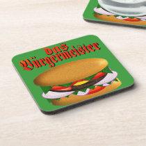 das Burgermeister Rectangular Coasters