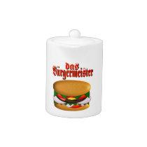 das Burgermeister Teapot