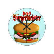 das Burgermeister Wall Clock