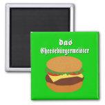 Das Cheeseburgermeister Magnet