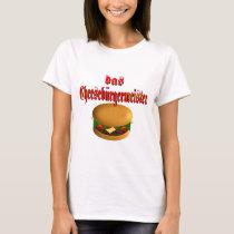 Das Cheeseburgermeister T-Shirt