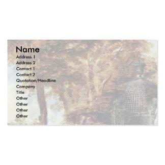 Das Moulinet By Lancret Nicolas (Best Quality) Business Card Templates