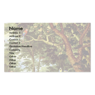 Das Paradies By Jan Brueghel The Elder (Best Quali Double-Sided Standard Business Cards (Pack Of 100)