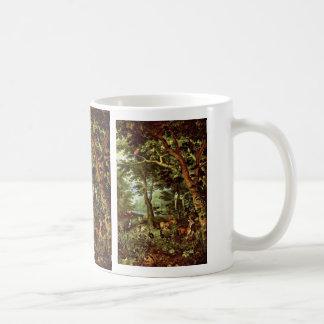 Das Paradies en enero Brueghel la anciano (el mejo Taza De Café