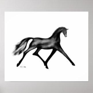 """Das Pferd"" ~ Poster"