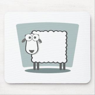 Das Schaf zum Quadrat Mouse Pad