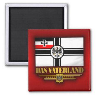 Das Vaterland 2 Inch Square Magnet