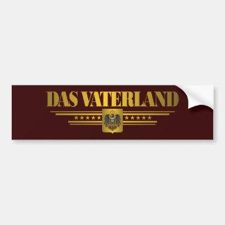 Das Vaterland Bumper Sticker