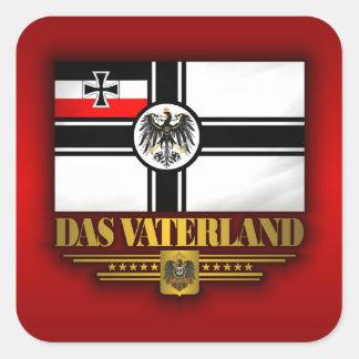 Das Vaterland Colcomanias Cuadradas Personalizadas