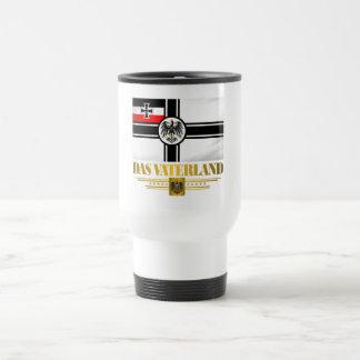 Das Vaterland 15 Oz Stainless Steel Travel Mug