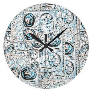 Dasaki' Round Clock