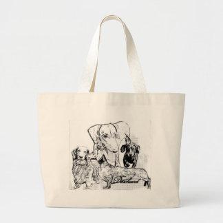 Daschund Bags