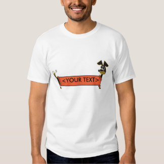 Daschund Dog Customizable, <YOUR TEXT> Shirt