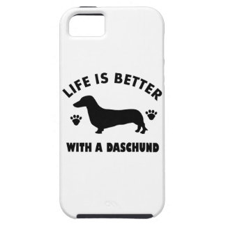 daschund dog design iPhone SE/5/5s case