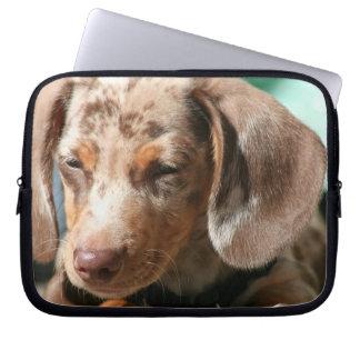 Daschund Dog Electronics Bag Laptop Sleeves