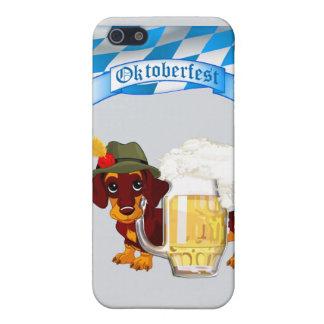 Daschund Oktoberfest iPhone 5 Fundas