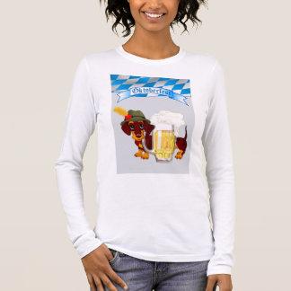 Daschund Oktoberfest Long Sleeve T-Shirt