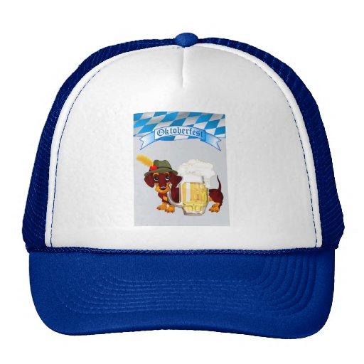 Daschund Oktoberfest Trucker Hat