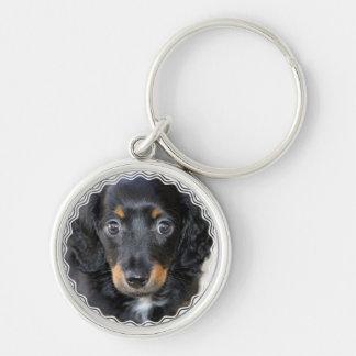 Daschund Puppy Dog Keychain