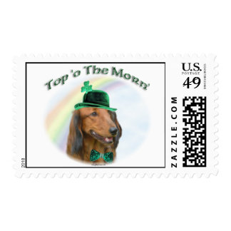 Daschund Top of the Morn Postage