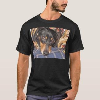 Daschund Weener Dog face T-Shirt