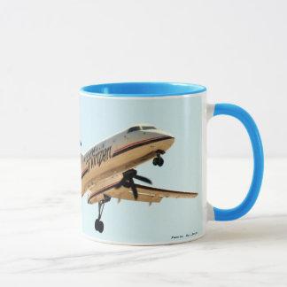 Dash 8 Landing LAX Mug