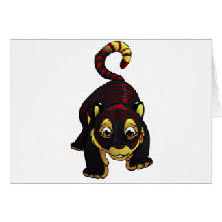Dash! Greeting Card