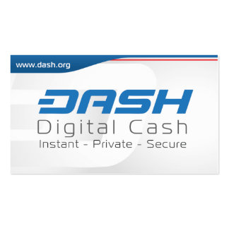 Dash Hand Out Card