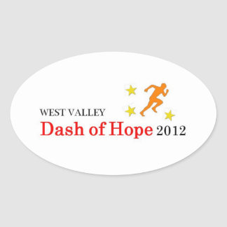 Dash of Hope Stickers