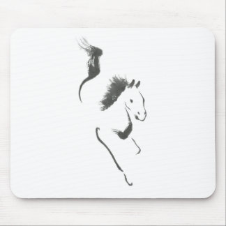 Dash to Safety, Sumi-e Year of the Horse Mouse Pad