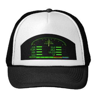 Dashboard Glow with Black Frame Trucker Hats