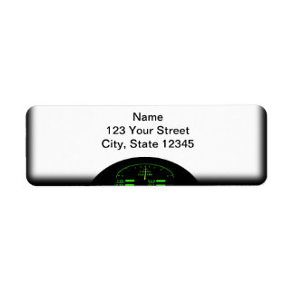 Dashboard Glow with Black Frame Label