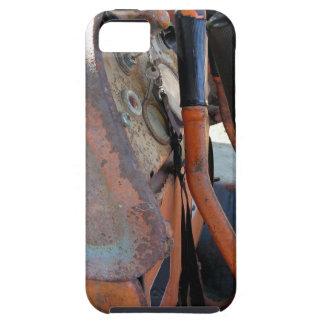 Dashboard of old italian crawler tractor iPhone SE/5/5s case