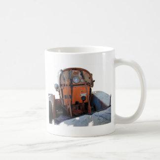 Dashboard old italian crawler tractor coffee mug