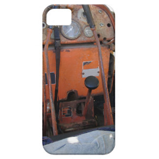 Dashboard old italian crawler tractor iPhone SE/5/5s case