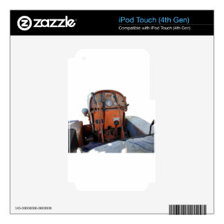 Dashboard old italian crawler tractor iPod touch 4G skins