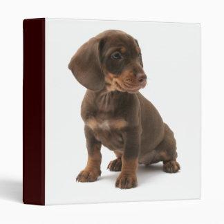 Dashchund Puppy Dog Binder