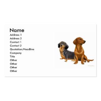 Dashchunds Profile Card Business Card