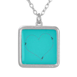 Dashed Heart Pendant
